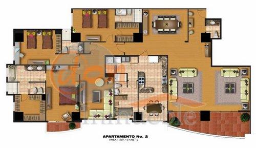 Zona 15 apartamentos de 3 habitaciones con acabados de - Planos de pisos de lujo ...