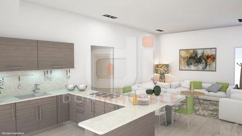 Km 6 5 carretera a monterrico 9 nicas residencias for Diseno sala comedor cocina
