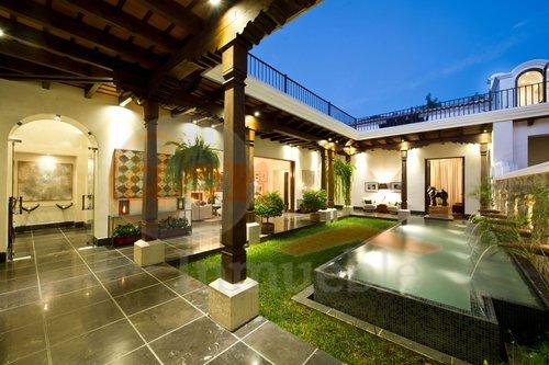 Mansi n en antigua guatemala usd 1 690 000 for Sims 2 mansiones y jardines